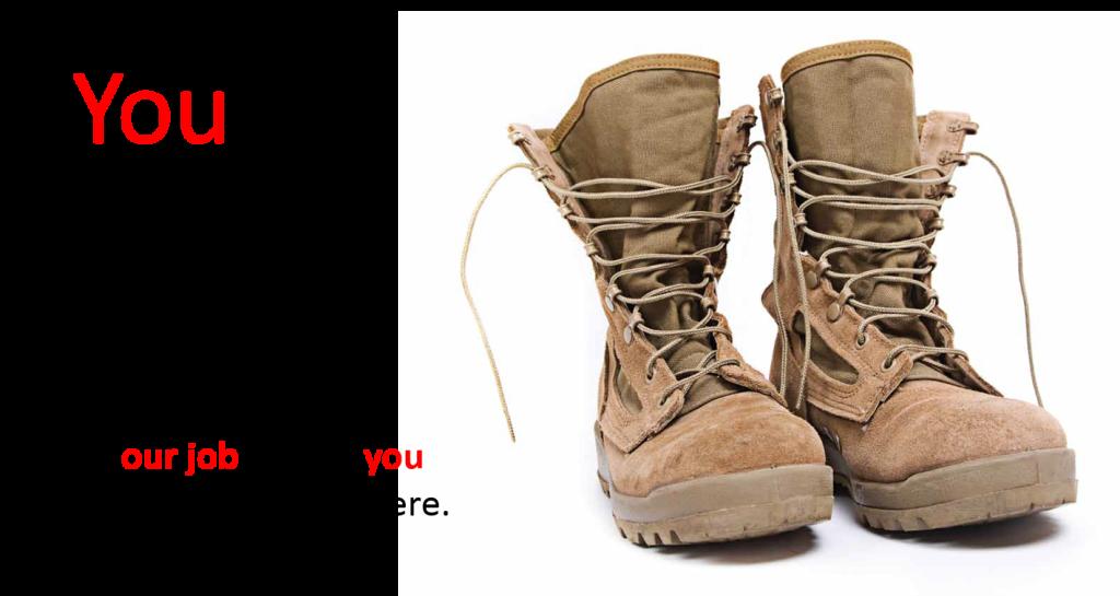 Veteran Women Menopause Boots